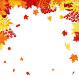 Autumn Leaves Frame Photo libre de droits