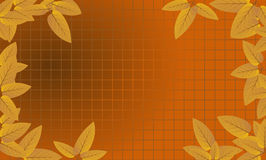 Autumn Leaves framed grid 1 Stock Photography