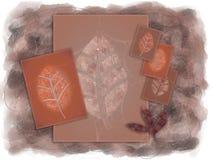 Autumn Leaves Illustraion Imagen de archivo