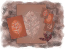 Autumn Leaves Illustraion Stock Image