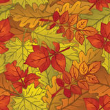 Autumn Leaves Low Poly Image stock