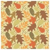 Autumn Leaves Pattern B vector illustration