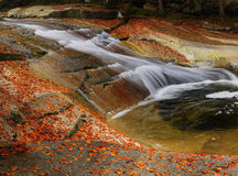 Waterfalls, Falls, Autumn, Landscape  Royalty Free Stock Images