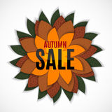 Autumn Leaves Sale Photo stock