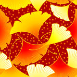 Autumn leaves seamless Royalty Free Stock Images