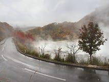 The Autumn Leaves season in Hokkaido ,Japan Royalty Free Stock Images