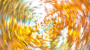 Autumn Leaves Swirl Royalty Free Stock Images