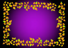 Autumn leaves. Vector. Stock Photos