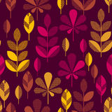 Autumn leaves vector illustration abstract. Stock Photos