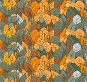 Autumn Leaves, Vectoraardachtergrond Stock Foto
