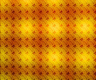 Autumn Leaves wallpaper background. An illustration of leaves in repeated design on a golden and orange background for use in website wallpaper design vector illustration