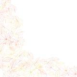 Autumn leaves on white background. plus EPS10 Stock Images