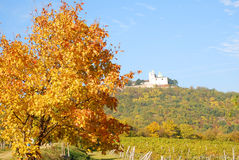 "Autumn at the ""Leopoldsberg"" Royalty Free Stock Images"