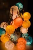 Autumn light  garland Royalty Free Stock Photography