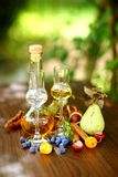 Autumn liqueur Stock Image