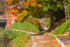 Autumn in Ljubljana, Slovenia Stock Images