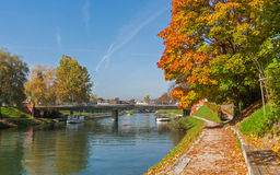 Autumn in Ljubljana, Slovenia Stock Photos