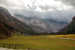 Autumn in Logar Valley Royalty Free Stock Photography