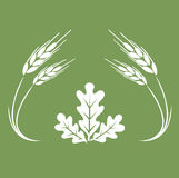 Autumn logo. Royalty Free Stock Photography