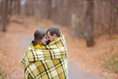 Autumn Love Arkivfoton