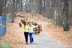 Autumn Love Arkivfoto