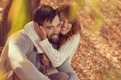 Autumn Love Stock Foto
