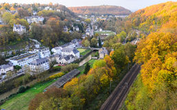Autumn in Luxembourg Stock Images