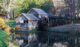 Autumn at Mabry Mill Stock Photography