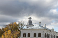 Autumn. Mainly cloudy. New Jerusalem Monastery. Russia Royalty Free Stock Photo