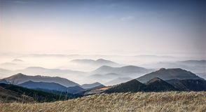 Autumn in Mala Fatra mountains Stock Photos