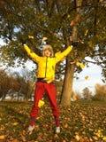 Autumn man Royalty Free Stock Photo