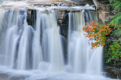 Autumn Manebezo Falls Stock Photos