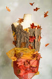Autumn Mannequin Royaltyfria Foton
