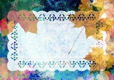 Autumn maple background Royalty Free Stock Photography