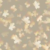 Autumn maple leaves pattern background. EPS 10 Stock Photo