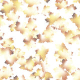 Autumn maple leaves pattern background. EPS 10 Stock Photography
