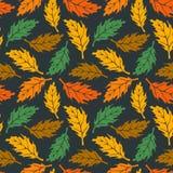 Autumn maple leaves seamless pattern. Texture stock illustration