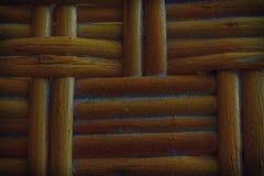 Autumn Maple a peint la texture en osier en bois de la vannerie pour l'usage de fond Photo stock