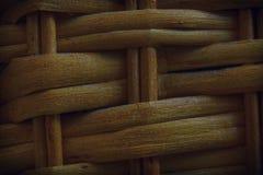 Autumn Maple a peint la texture en osier en bois de la vannerie pour l'usage de fond Photographie stock
