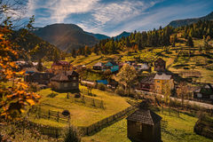 Autumn in Maramures Royalty Free Stock Photo