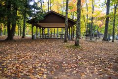Autumn At Michigan State Parks stock fotografie