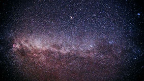 Autumn Milky Way, the Galaxy Stock Photography