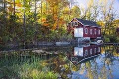 Autumn Mill Immagine Stock