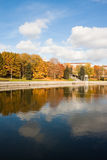 Autumn in Minsk Stock Images