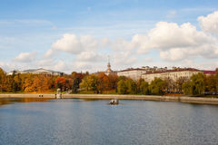 Autumn in Minsk Stock Photography