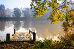 Autumn Mist Stock Image