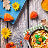 Autumn mixed vegetables Royalty Free Stock Photos