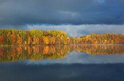 Autumn Moccasin Lake Royalty Free Stock Photo