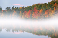 Autumn Moccasin Lake Stock Photography