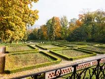 Autumn in a monastery garden Royalty Free Stock Photography